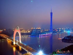 The Pearl River and The Canton Tower, Guangzhou