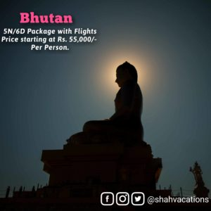 Bhutan package details in the above file